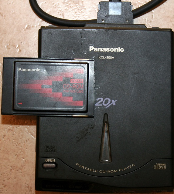 Panasonic KXL-808A CD-asema