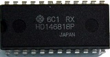 HD146818P RTC (REAL TIME CLOCK PLUS RAM) DIP24