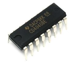 4040 CD4040 Ripple-Carry Binary Counter/Divider IC