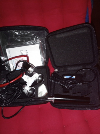 DY-102 Medical Binocular Magnifier with 3.5X Headlamp
