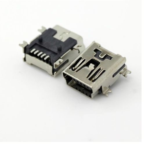 Mini USB SMD 5-Pin Female Mini B Socket Connector S2