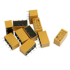 DC 12V Coil DPDT 8 Pin 2NO 2NC Mini Power Relays PCB Type HK19F