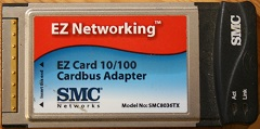 SMC ez card 10/100 smc8036tx