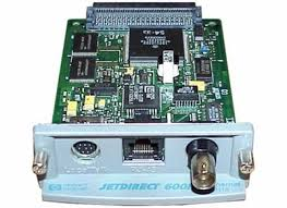 HP JetDirect 600N Ethernet, Coax & AppleTalk Print Server