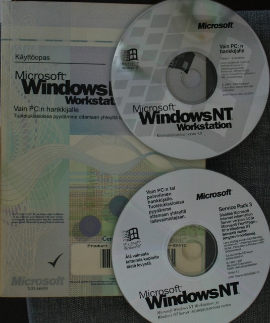 Windows NT Workstation 4.0 FIN