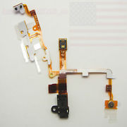Headphone Jack Power Volume Switch Flex Cable For iPhone 3G Blac