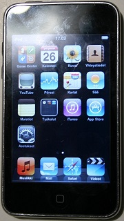 Apple iPod Touch 8Gb MP3/MP4 players MC086KS