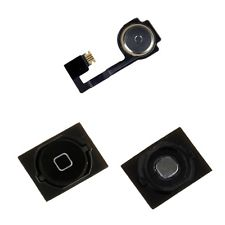 iPHONE 4S 4GS HOME MENU BUTTON HOME FLEX CABLE BLACK