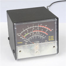 External S Meter/SWR/Power Meter display meter for Yaesu FT857/F
